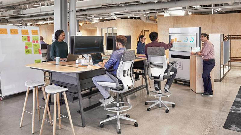 Novi IT prostor stvoren za podršku agilnim načinima rada - ljudima koji prelaze sa jedne vrste posla na drugu.