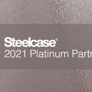 Steelcase Platinum Partner 2021.